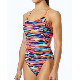 TYR Bonzai Crosscutfit Tieback Bathing Suit black/multi